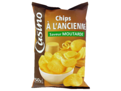 Chips a l?ancienne : saveur Moutarde