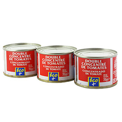 Concentre de tomates Eco+ 3x70g