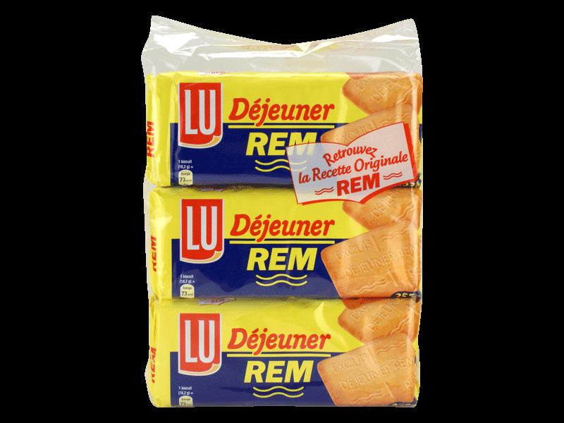 Rem dejeuner x3 255g tous les produits barres de c r rales biscuits petit d jeuner prixing - Carbonate de sodium danger ...