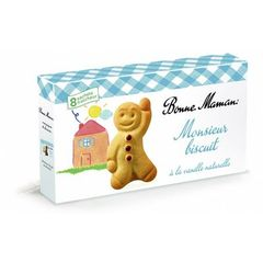 Mr Biscuit a la vanille naturelle BONNE MAMAN, 120g