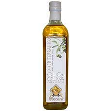 Huile d'olive vierge extra Mediterraneo TOSCORO, bouteille de 75cl