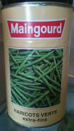 Haricots verts extra fins Maingourd, 4kg