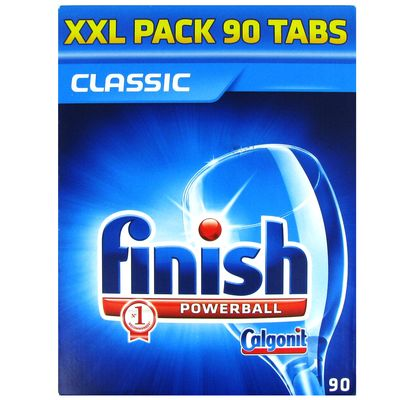 Tablettes lave vaisselle finish powerball classic maxi pack XXL 1677g