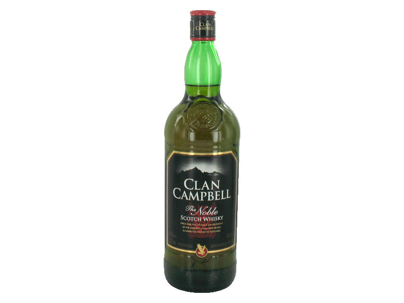 Clan Campbell whisky 40° -100cl
