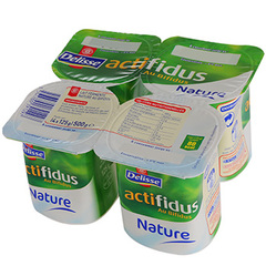 Actifidus Delisse nature 4x125g