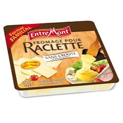 entremont fromage pour raclette sans croute 700g 28 mg tous les produits fromages pour la. Black Bedroom Furniture Sets. Home Design Ideas