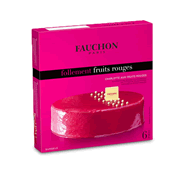 Charlotte aux fruits rouges FAUCHON, 530g