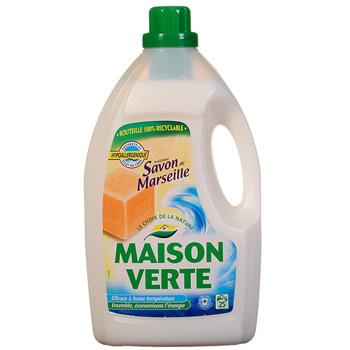 Lessive liquide maison verte savon de marseille 3l tous les produits poudre - Maison verte lessive ...