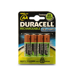 Piles rechargeables AA 1950 mAh/1.2 V