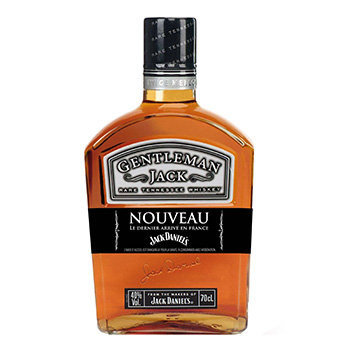 Jack gentleman jack 40%vol. 70cl