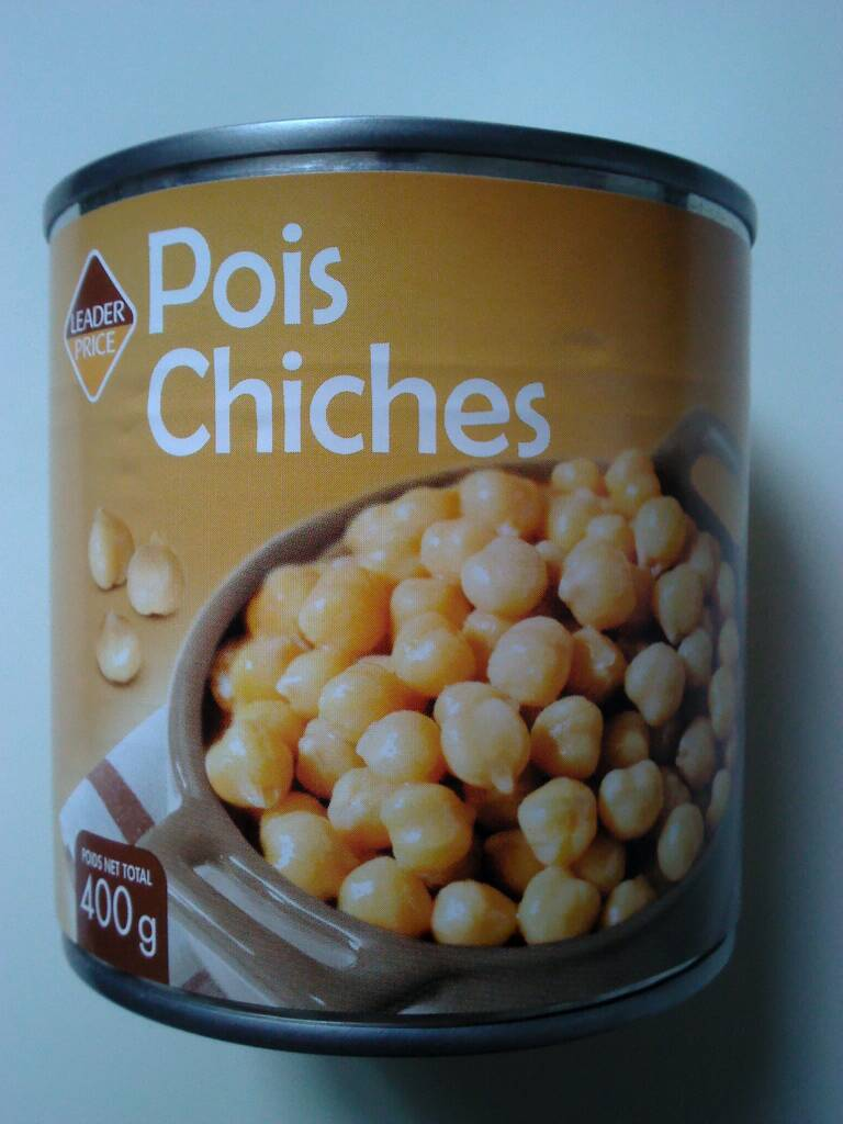 Pois chiches 265g