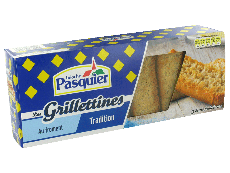 Grillettines tradition PASQUIER, 230g