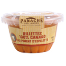 rillette de canard au piment d'espellette 130g