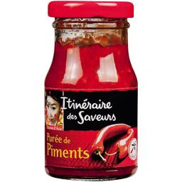 Puree de piments, le bocal,100g