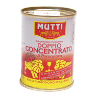 Double concentre de tomate Mutti tir up 140g