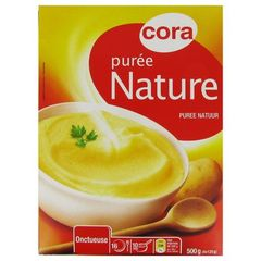 Puree nature onctueuse