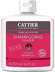 CATTIER Couleur Shampooing sans Sulfate 250 ml Lot de 2
