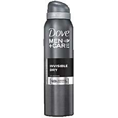 Deodorant invisible DOVE Men + Care, 200ml