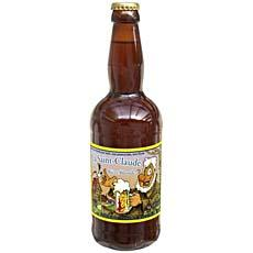 Biere blonde La Saint Claude SAINT PIERRE, 5.4°, 50cl