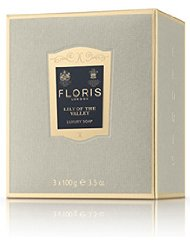 Floris London Savons Lily Of The Valley 3 X 100 g0 g