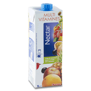 AUCHAN : Nectar de fruits multivitaminés