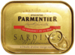 Sardines millesimees a l'huile d'olive vierge extra HYACINTHE PARMENTIER, 115g