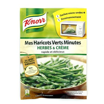 Knorr sachet micro ondes legumes vert cremes et herbes 30g