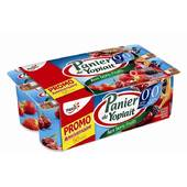 PANIER 0% MG FRUITS ROUGES 125Gx8