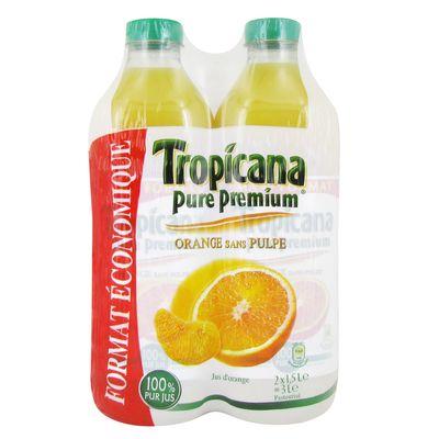 jus d 39 orange sans pulpe 100 pur jus pure premium tous les produits jus 100 pur jus prixing. Black Bedroom Furniture Sets. Home Design Ideas