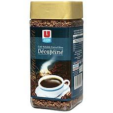 Cafe soluble decafeine Extra Filtre U, 100g