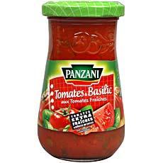 sauce tomates et basilic aux tomates fraiches le pot de 210g tous les produits sauces. Black Bedroom Furniture Sets. Home Design Ideas