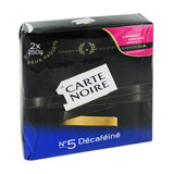 cafe moulu decafeine carte noire 2x250g