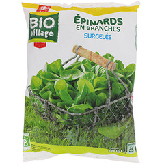 Epinards Bio Village En branches 600g