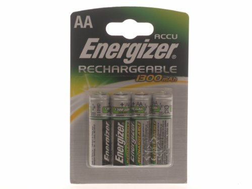 Energizer Rechargeable 4PK piles AA 1300mAh