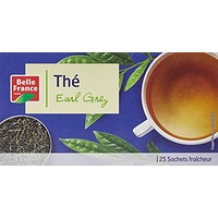 Belle France Thé Earl Grey 25 Sachets 50 g - Lot de 5