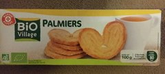 Biscuits palmier Bio Village 100g