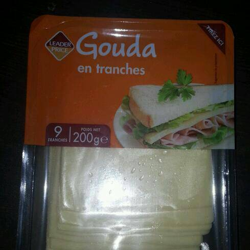 Gouda de hollande en tranches 200g