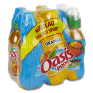 Oasis oange pocket 6x25cl