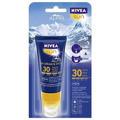 Combi-stick Nivea Sun Alpin FPS30 20ml