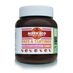 Alter Eco pate a tartiner noisettes 400g