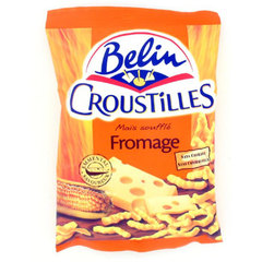 Croustilles - Biscuits souffles fromage 1 x 90g