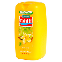 Tahiti, Gel douche vanille gourmande, le flacon de 250 ml