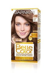 Garnier Belle Color Coloration 6N Châtain Clair Nude - Lot de 2