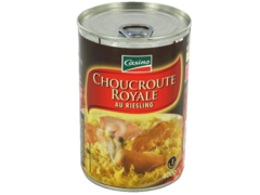Choucroute royale au riesling