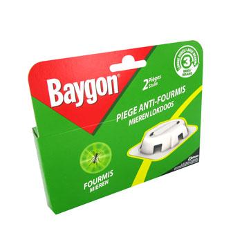 baygon piege anti fourmis longue duree 3 mois x2 la boite 3g tous les produits. Black Bedroom Furniture Sets. Home Design Ideas