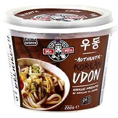 Nouilles Authentic Korean Udon au bouillon de légumes