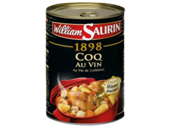 Coq au vin Cuisine de Pays WILLIAM SAURIN, 400g