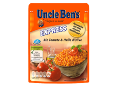 Riz express 2mns Uncle Ben's Tomate huile olive 250g