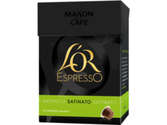 L'or Expresso - Capsule de cafe Satinato - 10 capsules Compatibles avec les machines a cafe Nespresso. Cafe de Force 5