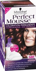 Coloration Perfect Mousse permanente 586 acajou
